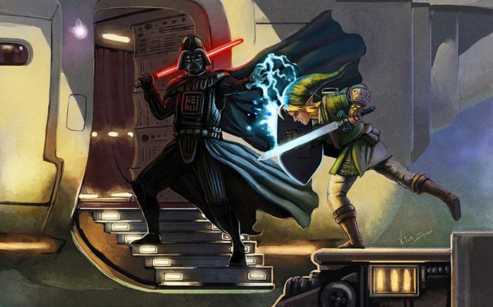 Vader VS Link