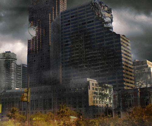Surreal Cityscape