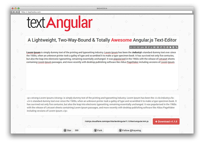 text-angular