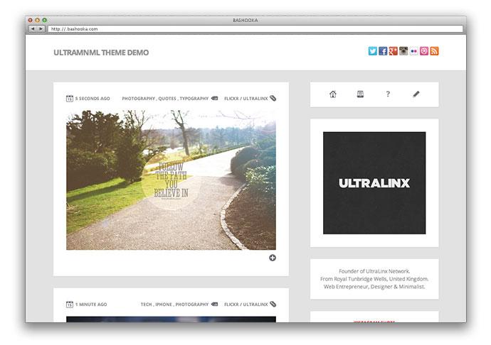 30 Cool Tumblr Themes   Web & Graphic Design   Bashooka