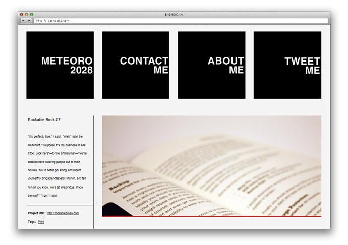 Meteoro 2028: A new Tumblr Portfolio