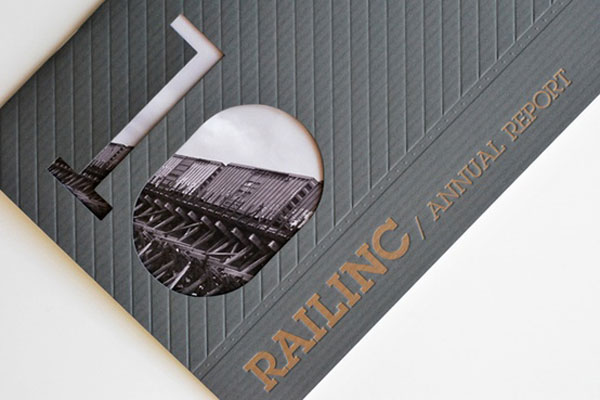Railinc Annual Report 2010 by Nicole Kraieski