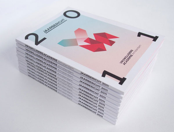 Vrijwilligersacademie Amsterdam Annual Report by Da Costa Design