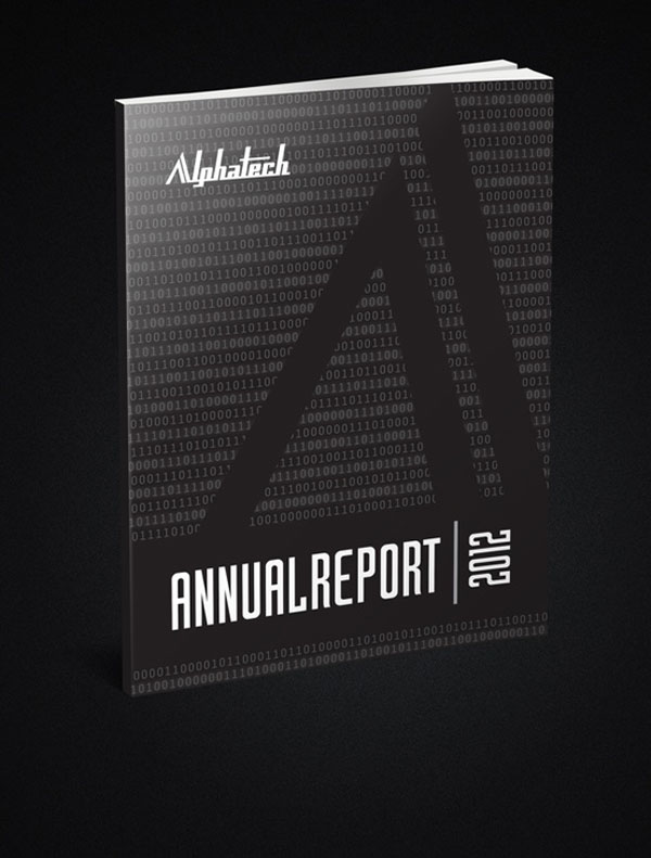 Alphatech Annual Report by Melissa ten Bohmer