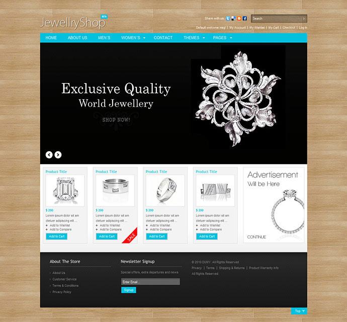 Ecommerce Jewellery Store