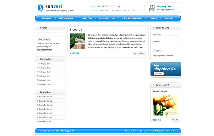 Shopping Cart Template Html. creating e commerce cart system in php ...