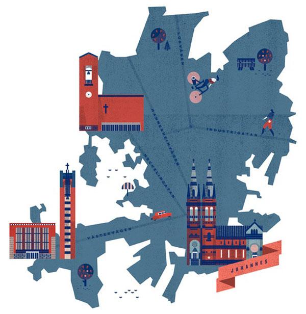 Helsinki Maps by Lotta Nieminen
