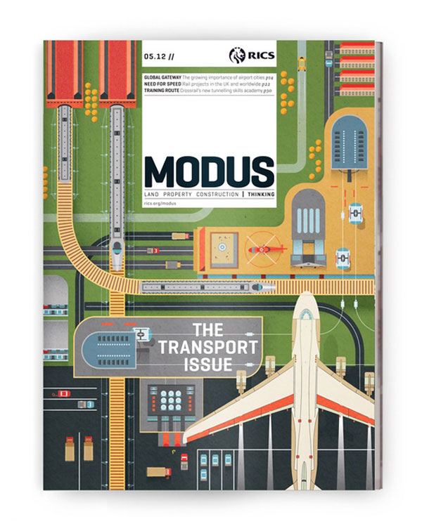 Modus: Transport Illustrations by The Design Surgery