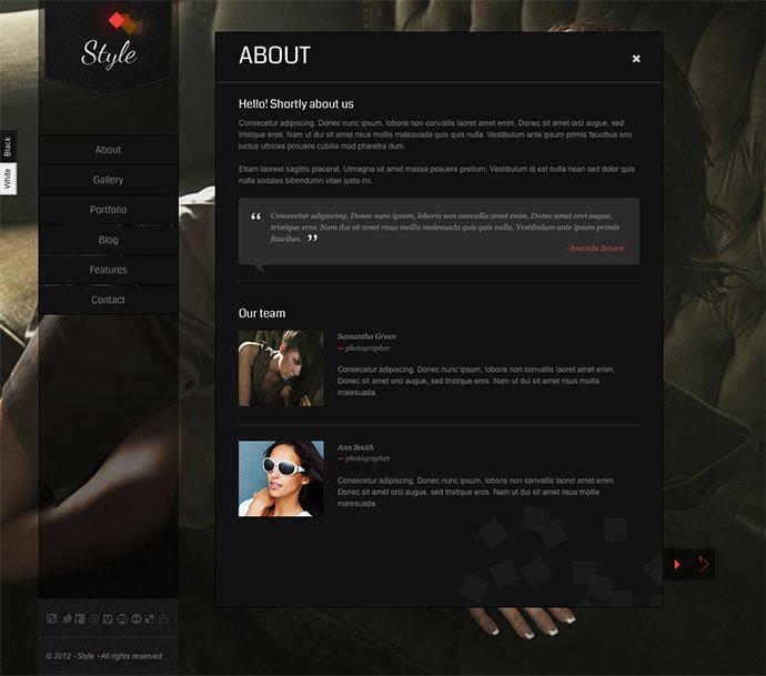 Style Premium WordPress Theme