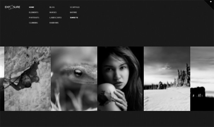 Exposure Responsive Photography WordPress Theme