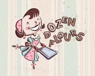 Dozen Flours - chosen design
