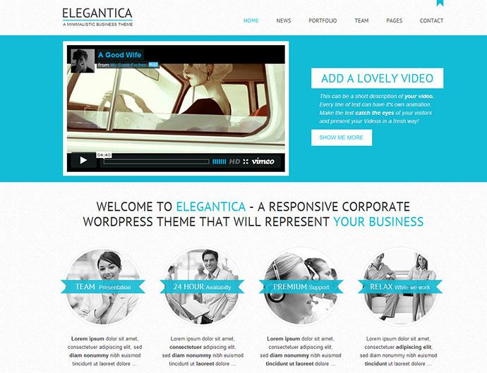 Elegantica - Responsive Business HTML / CSS Theme
