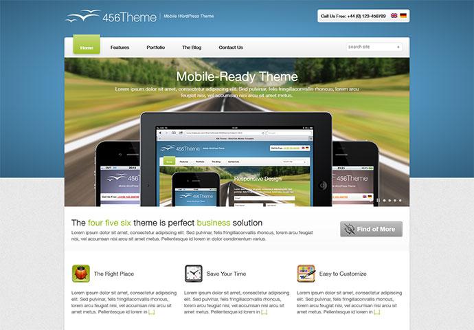 456Theme Premium Responsive Site Template