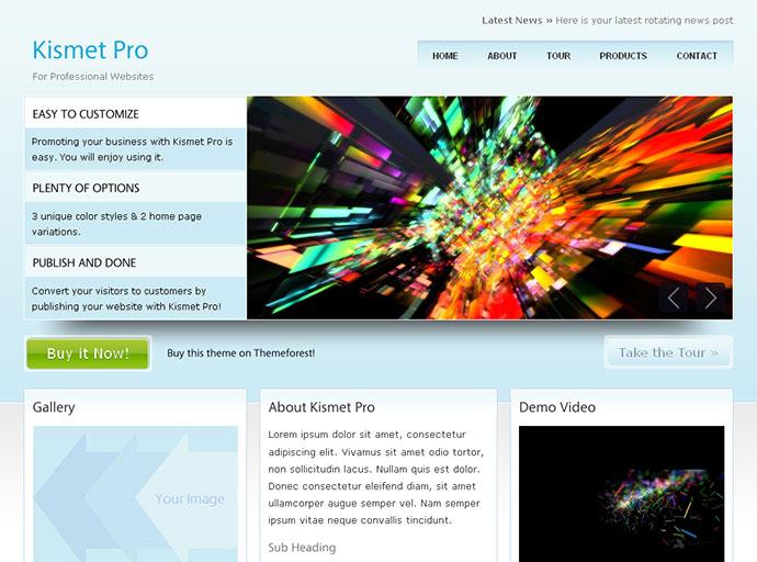 Kismet Pro - HTML