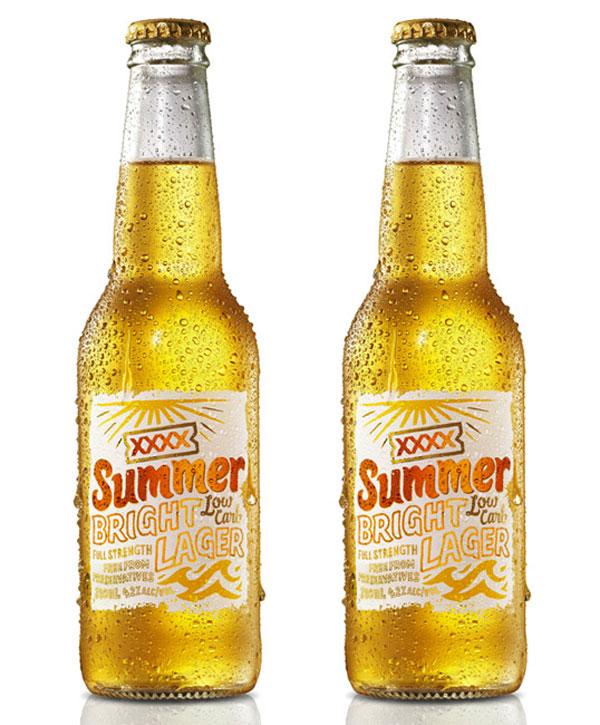 XXXX Summer Bright Lager