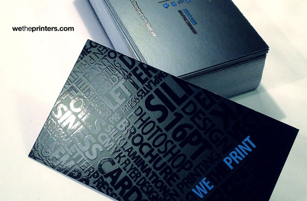 16pt Standard Spot UV Business Card