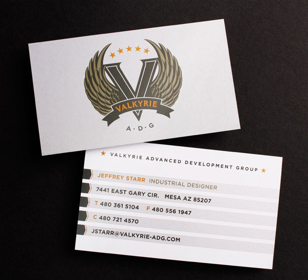 Valkyrie Business Card