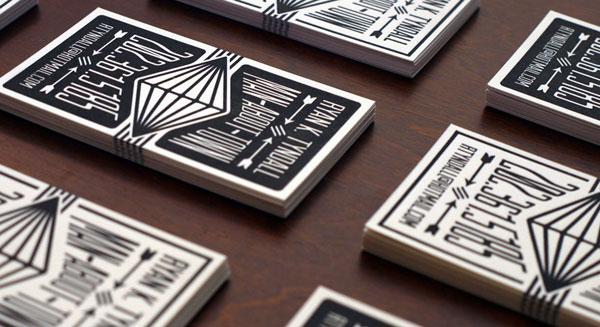 Letterpress Calling Cards