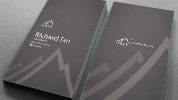 BMF business card and Branding