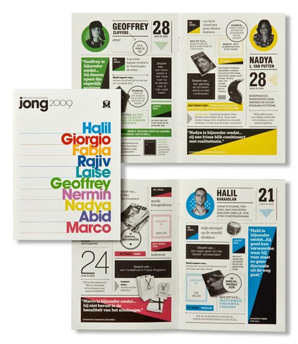 full spread, infographics