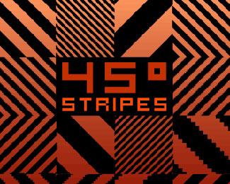 45 Degrees Stripes Pattern