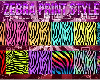 Zebra Print Styles