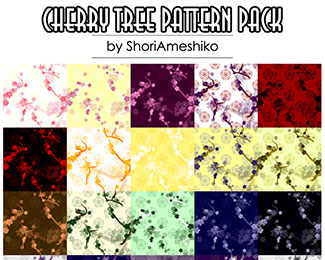 Cherry Tree Pattern Pack