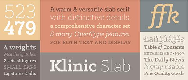klinic-font