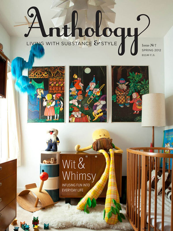 Anthology issue no7 spring 2012