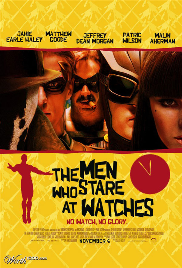 the men who stare at watches