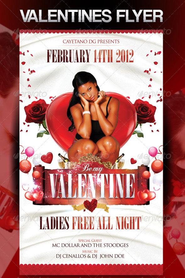40 Sexy Valentines Flyer Templates | Web & Graphic Design | Bashooka