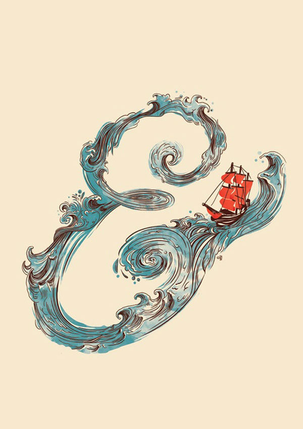 Ampersand by Francisco Martin