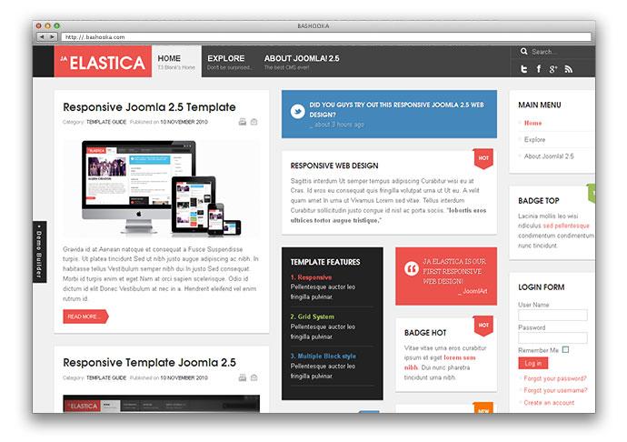 15 Free & Premium Responsive Joomla Templates | Web & Graphic ...