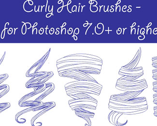 PS - Curly Hair Brushes
