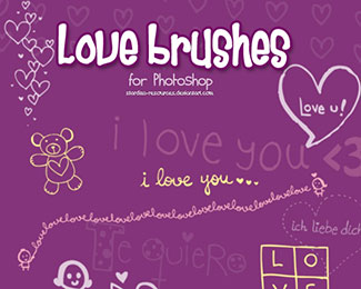 Love brushes