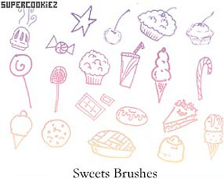 Sweet Shop Sweet Brushes