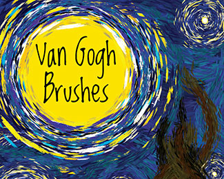 Van Gogh Photoshop Brushes