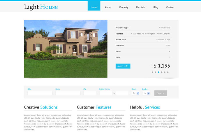 Light House - Clean Real Estate WordPress Theme