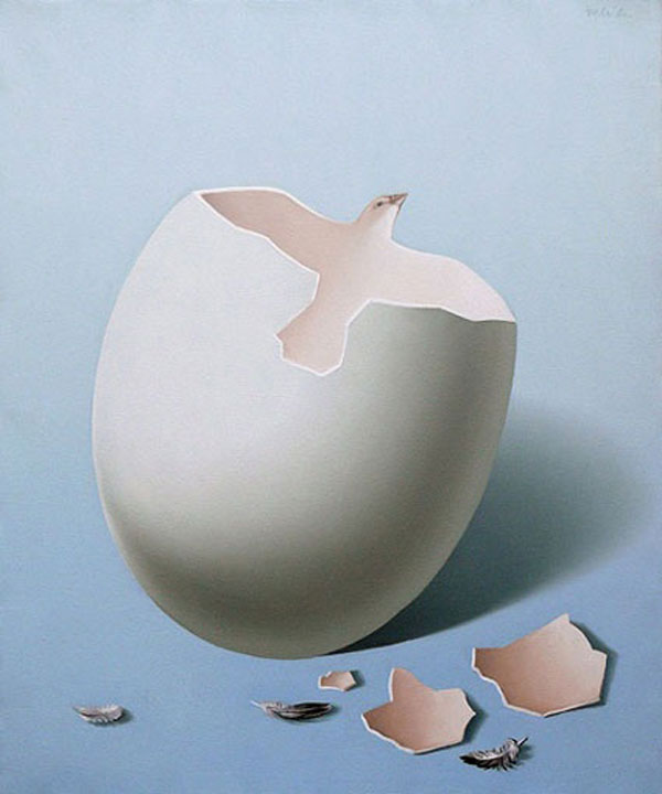 Dove Egg Painting