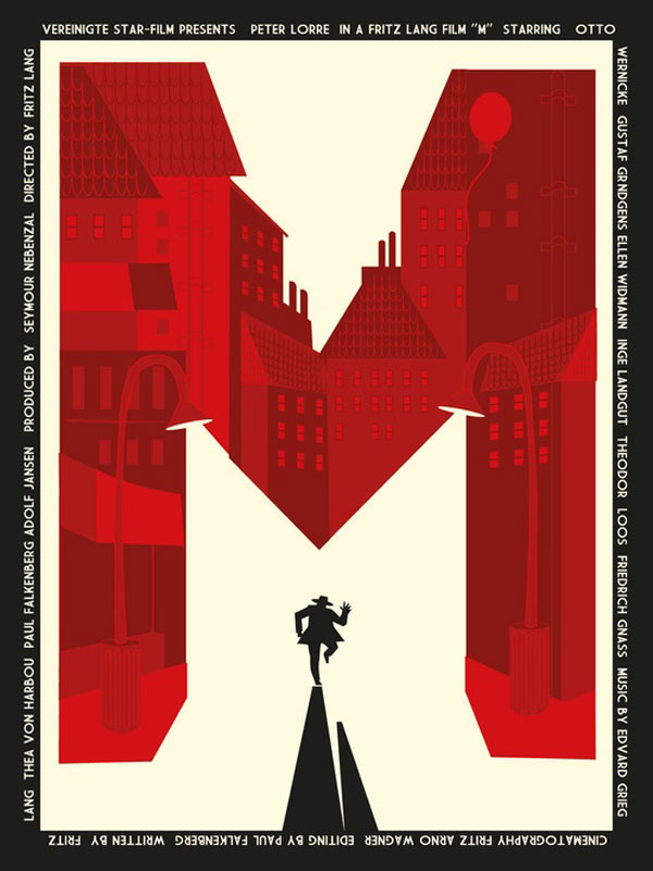 Fritz Lang M poster