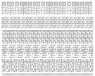 Roman Pixel Patterns
