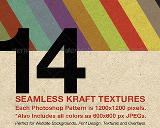 Seamless Kraft Patterns