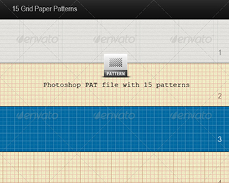 15 Grid Paper Patterns