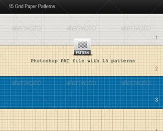 15 Grid Paper Patterns