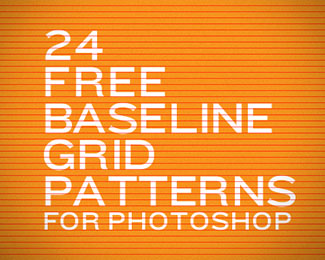 24 Free Baseline Grid Patterns