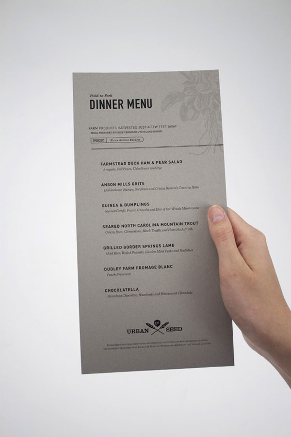 45 Remarkable Food Amp Drink Menu Designs Bashooka