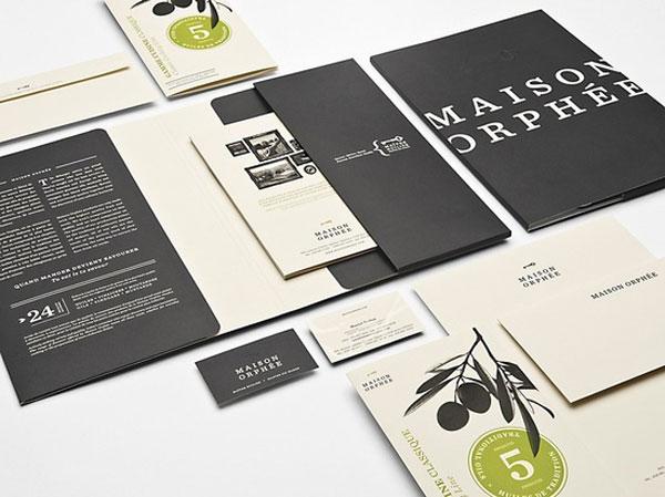 design restaurant menu maison orphee