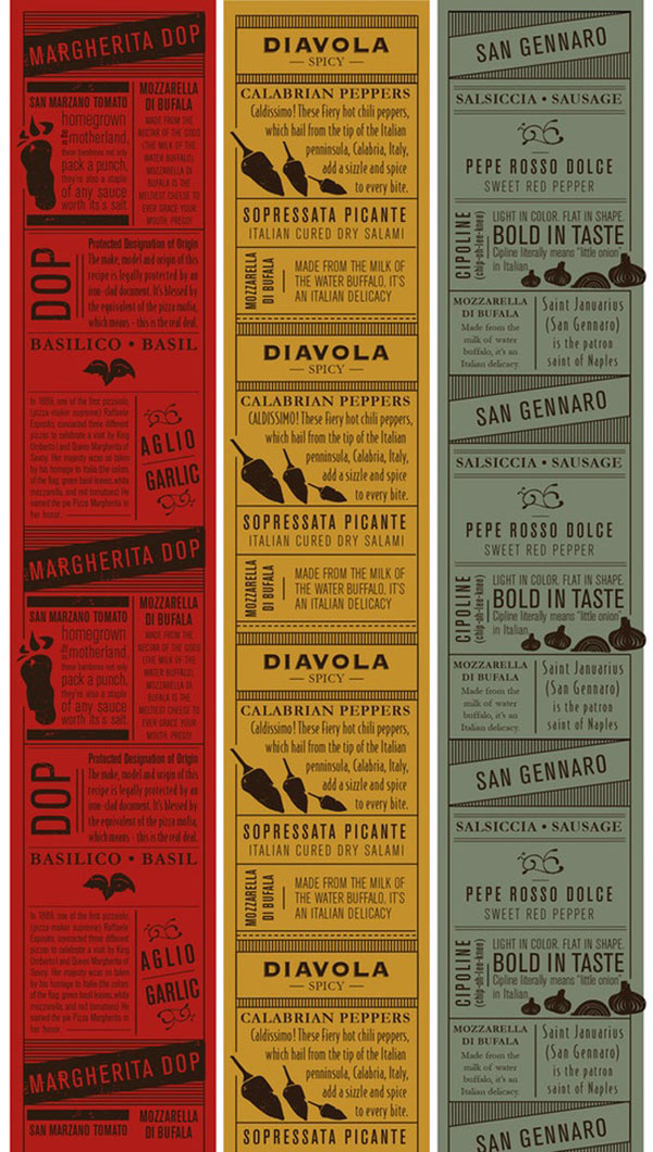 Remarkable food drink menu designs web graphic