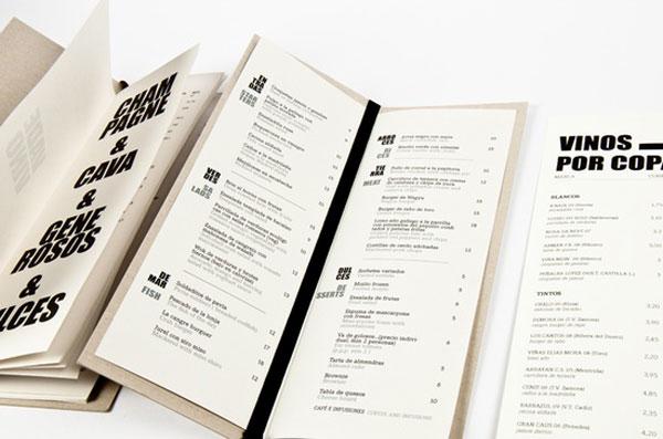 Remarkable food drink menu designs web graphic