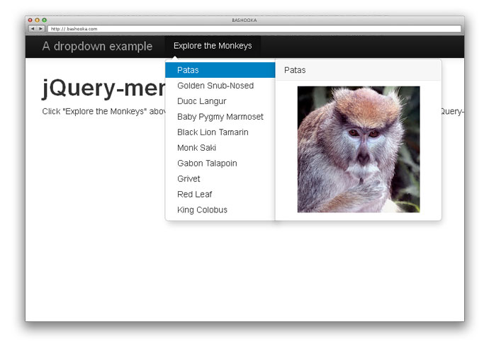 jQuery-menu-aim
